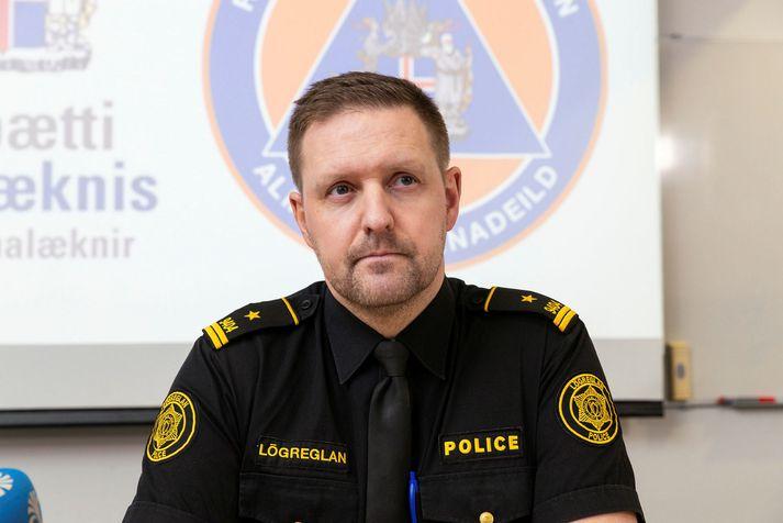 Rögnvaldur Ólafsson, aðstoðaryfirlögregluþjónn hjá almannavörnum.