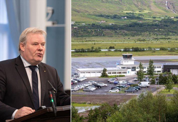 Sigurður Ingi Jóhannsson, samgöngu- og sveitarstjórnarráðherra, kynnti þessar áætlanir stjórnvalda í dag.