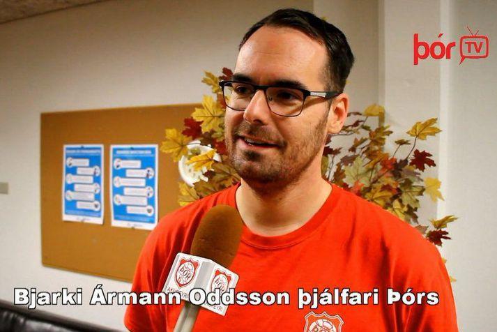 BJarki Ármann Oddson lék þrjú tímabil með Þór í úrvalsdeildinni á sínum tíma en hann stýrir liðinu i fyrsta sinn annað kvöld.