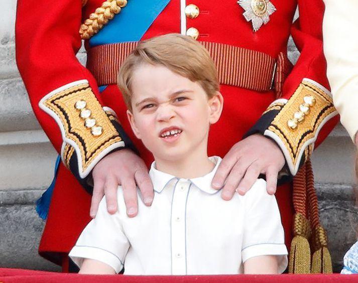 Georg prins af Cambridge er nýorðinn sjö ára.