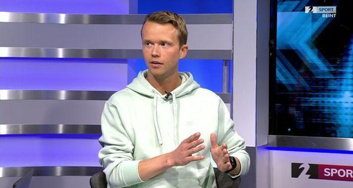 Arnar Pétursson var gestur í Sportinu í dag.