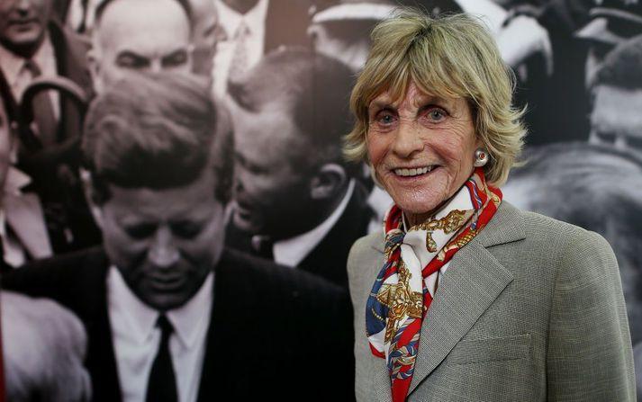 Jean Kennedy Smith var sendiherra Bandaríkjanna gagnvart Írlandi um fimm ára skeið í forsetatíð Bills Clinton á tíunda áratugnum.