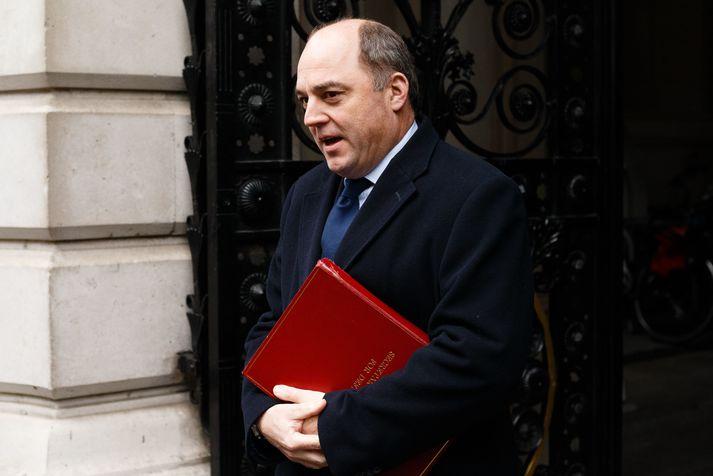 Ben Wallace er varnarmálaráðherra Bretlands.