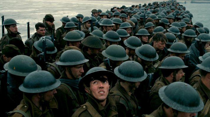 Dunkirk nýtur sín best á risavöxnu bíótjaldi.