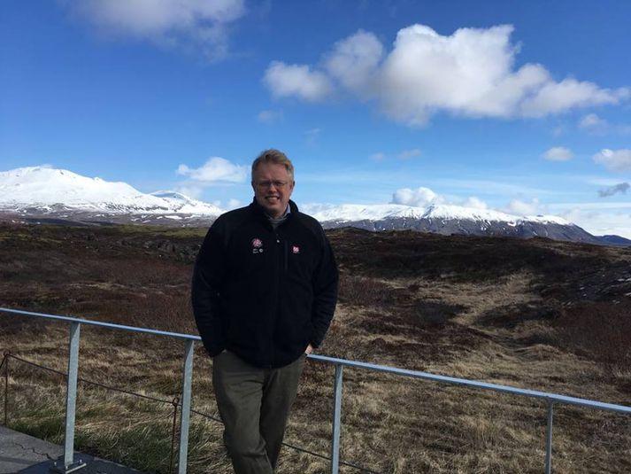 Einar Á. E. Sæmundsen er nýráðinn þjóðgarðsvörður á Þingvöllum.