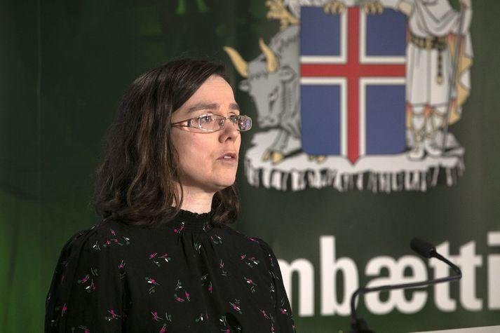 Kamilla Sigríður Jósefsdóttur smitsjúkdómalæknir.