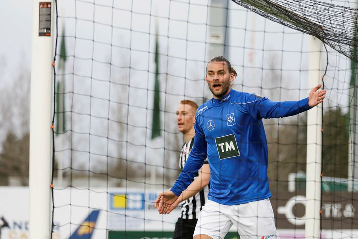 Guðmundur Steinn lék með Stjörnunni í tvö ár og varð bikarmeistari með liðinu.