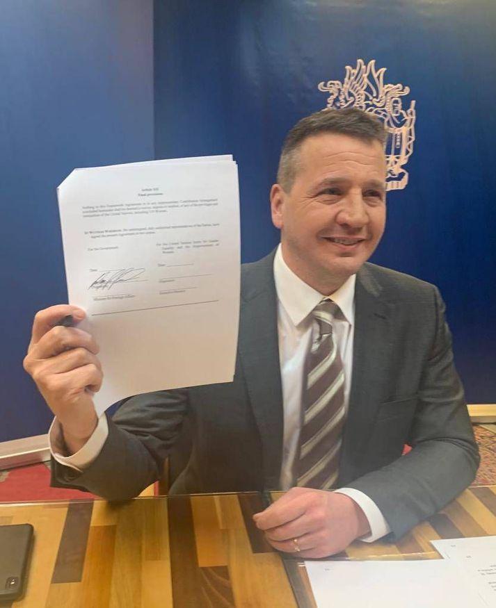 Samningurinn gildir til loka árs 2023 og veitir heildræna umgjörð utan um samstarf Íslands og UN Women.