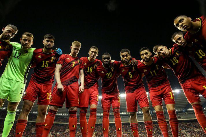 Belgar skoruðu grimmt í undankeppni EM 2020.