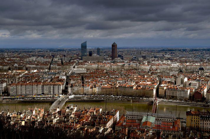 Frá frönsku borginni Lyon