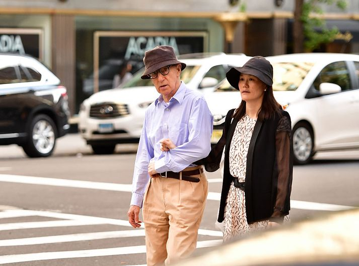Woody Allen og Soon-Yi-Previn hafa verið gift í 21 ár.