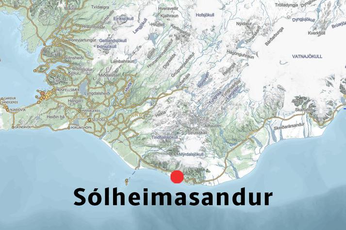 Ekkert hafði heyrst frá manninum síðan um fimmleytið.