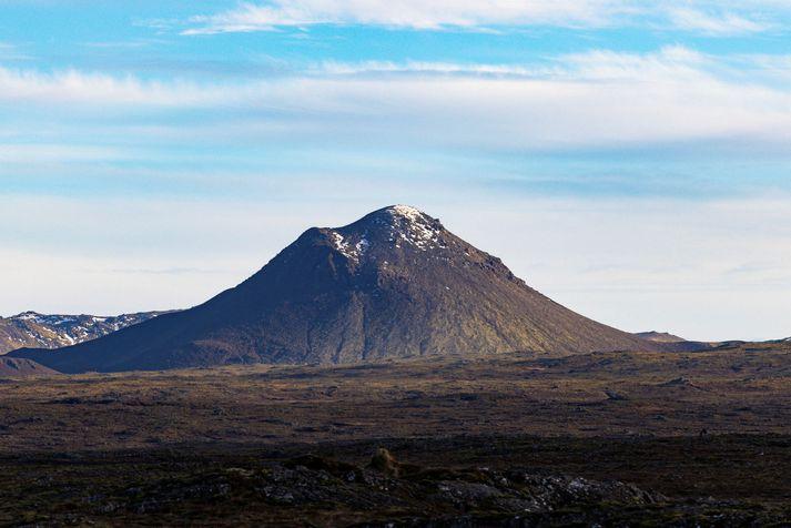 Jarðskjálftarnir í dag hafa mælst á milli Kleifarvatns og Grindavíkurvegar.
