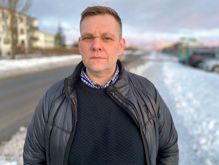 Guðmundur Ingi Þóroddsson, formaður Afstöðu.