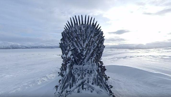 Landslagið verður að teljast nokkuð íslenskt í útliti.