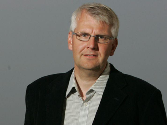 Einar Sveinbjörnsson. Fátt haggar veðurfræðingnum en nú segir hann stöðu mála lygilega.