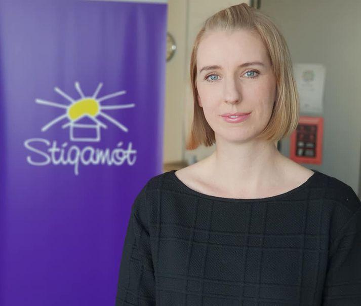 Steinunn Gyðu- og Guðjónsdóttir, verkefnastýra Stígamóta.