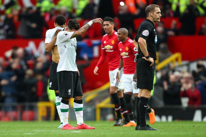 Hlutirnir féllu með Manchester United á síðasta tímabili en ekki með Liverpool.