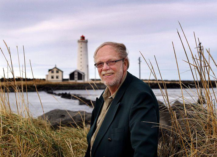 Jónas Kristjánsson kom víða við á ferli sínum í fjölmiðlum.