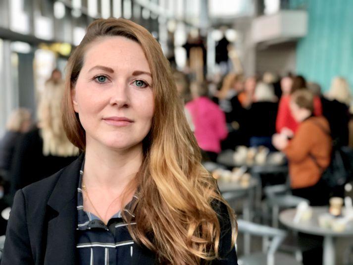 Sigrún Ása Þórðardóttir segir kulnun vera að aukast  hjá fólki hér á landi.
