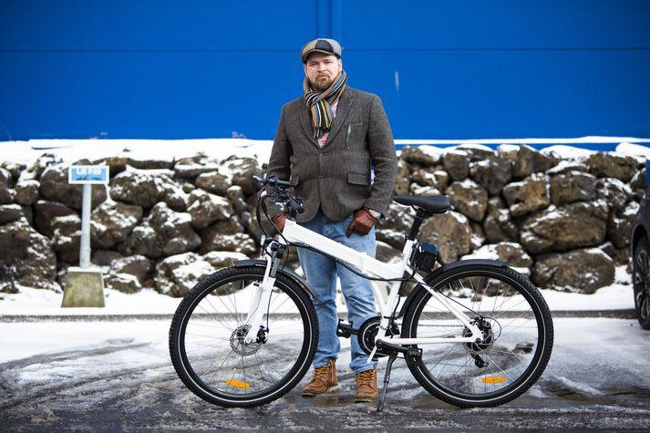 Þórarinn Ævarsson segist ætla að mokselja rafhjól, ekki síst til starfsfólks IKEA.