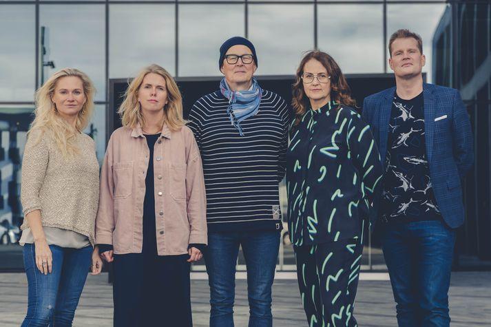 Birna Hafstein, Auður Jörundsdóttir, Sigtryggur Baldursson, Halla Helgadóttir og Bragi Valdimar Skúlason.