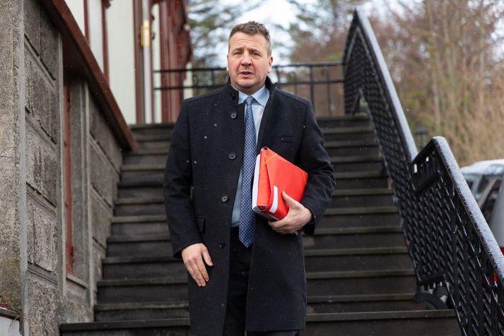 Guðlaugur Þór Þórðarson er utanríkis- og þróunarsamvinnuráðherra.