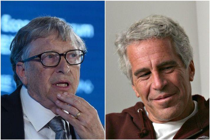 Gates segir þá Epstein hafa snætt saman nokkur skipti.