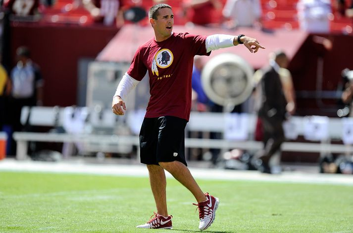 LaFleur er hann var að vinna hjá Redskins.