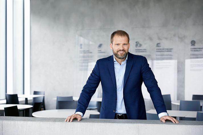 Róbert Wessman, stofnandi og stjórnarformaður Alvotech, segist ánægður með samninginn.