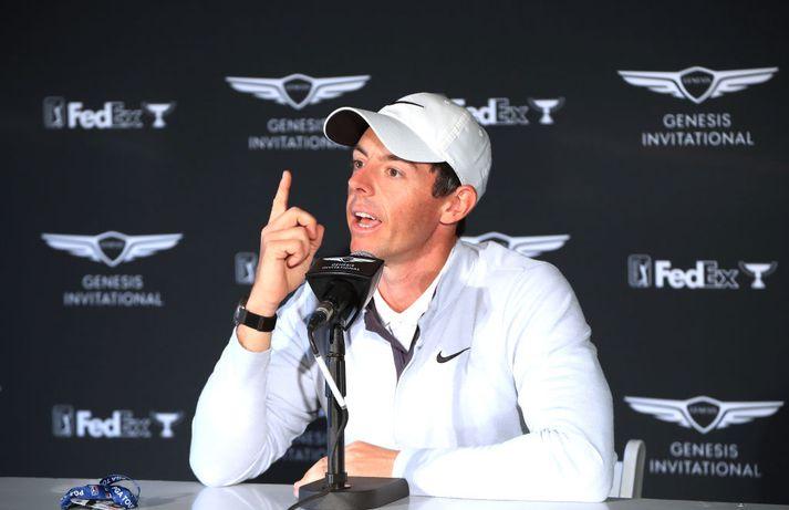 Númer eitt. Rory er mættur aftur á toppinn.