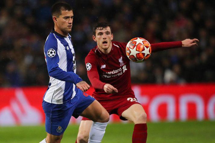 Otavio í leik með Porto á móti Liverpool í Meistaradeildinni vorið 2019.
