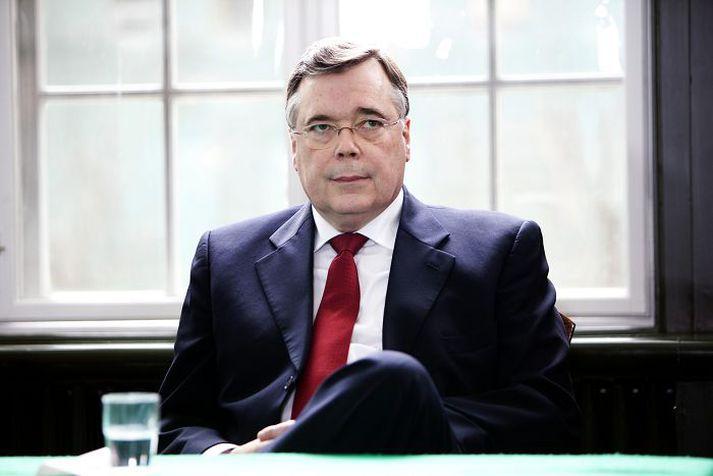 Geir H. Haarde, fyrrverandi forsætisráðherra, í Landsdómi í mars 2012.