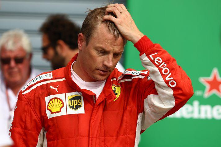 Raikkonen er kominn til Sauber.