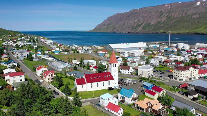 Siglufjörður er hluti af sveitarfélaginu Fjallabyggð.