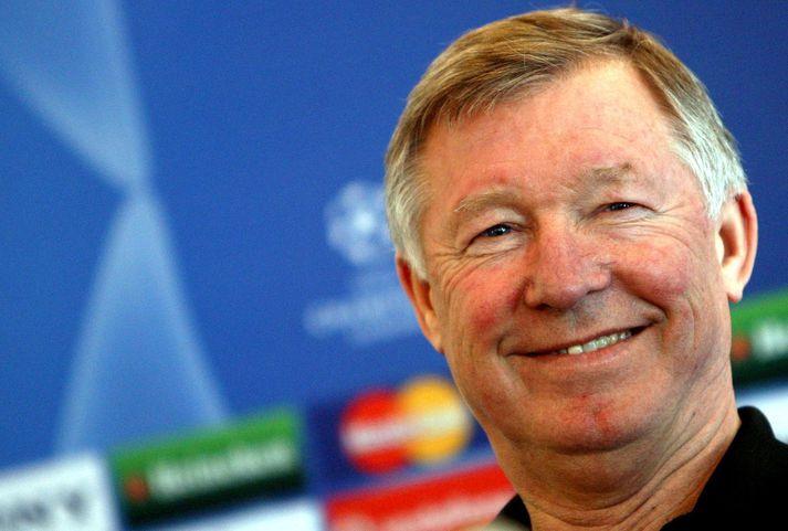Sir Alex Ferguson var miklu yngri og hafði aldrei stýrt liði Manchester United þegar hann mætti tvisvar sinnum með lið sitt í Laugardalinn á níunda áratugnum.