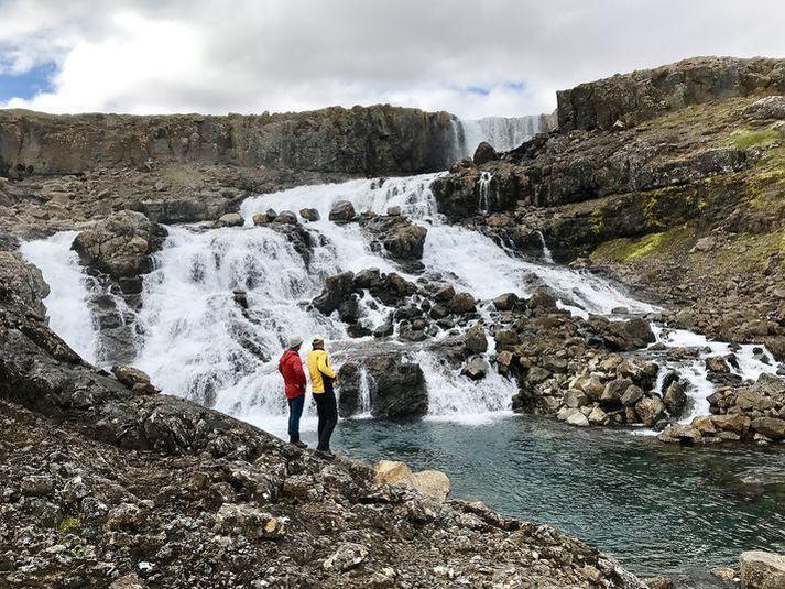 Eyvindarfjarðará á Ströndum sem einnig heyrir undir Hvalárvirkjun.