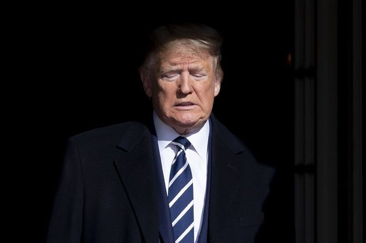 Donald Trump, fyrrverandi forseti, er sagður reiður yfir því að fólk hafi verið að gera grín að bloggsíðu hans og litlum vinsældum hennar.