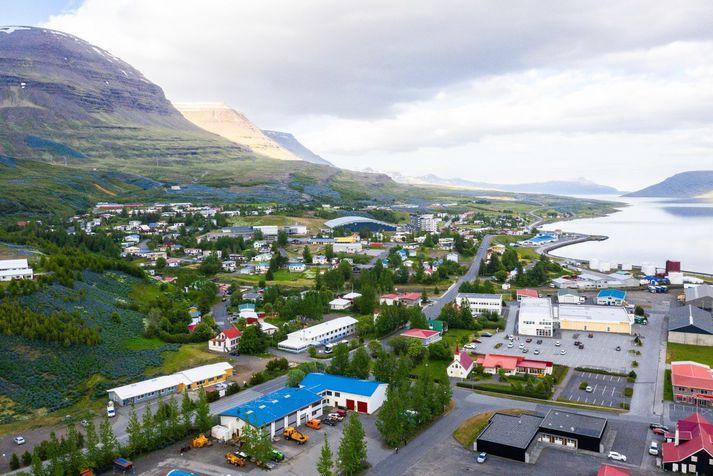 Frá Reyðarfirði. Ráðist var í fjöldasýnatöku eftir að grunur kom upp um smit í Grunnskóla Reyðarfjarðar í gær.