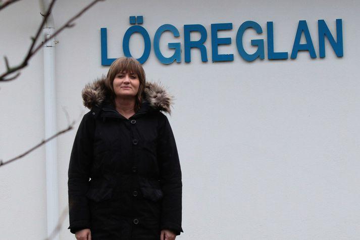 Rannveig Brynja Sverrisdóttir, nýr aðalvarstjóri hjá Lögreglunni á Suðurlandi með aðsetur á Selfossi.