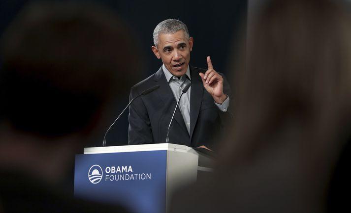 Frá ávarpi Obama til útskriftarárganga háskóla í gær.
