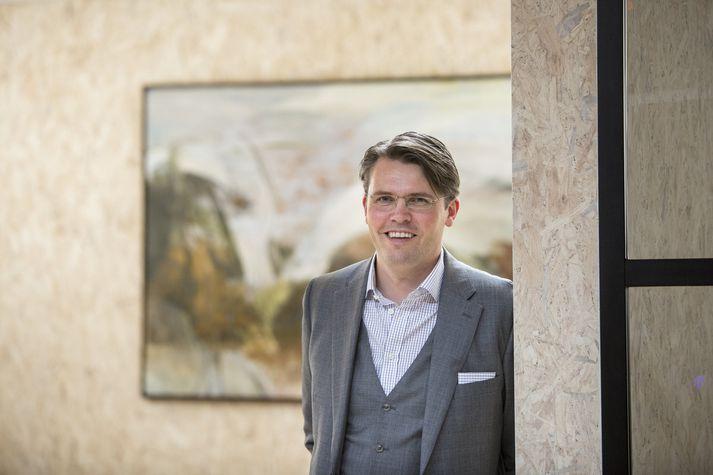 Jakob Már Ásmundsson, forstjóri Kortaþjónustunnar.
