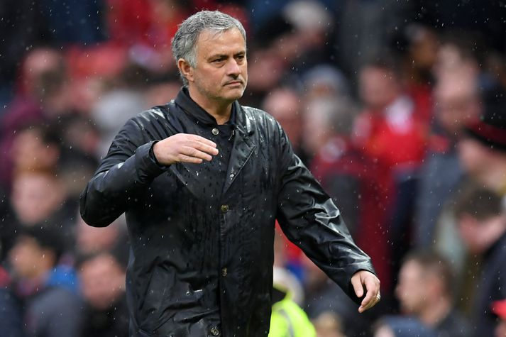 Mourinho var brjálaður.