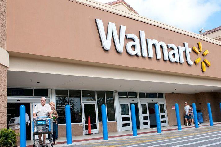Verslun Walmart.