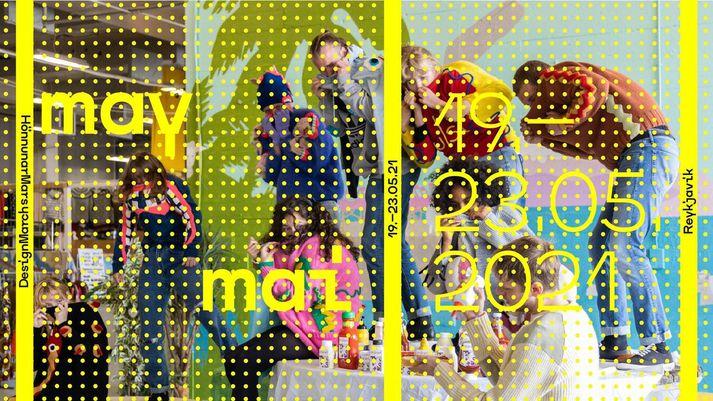 HönnunarMars fer fram dagana 19. til 23. maí.