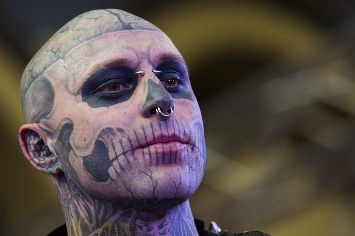 Zombie Boy varð 32 ára gamall.