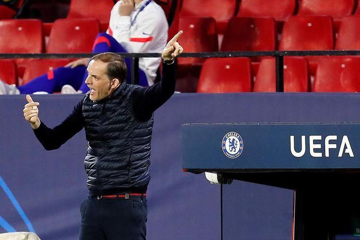 Chelsea mætir Manchester City á Wembley í dag.