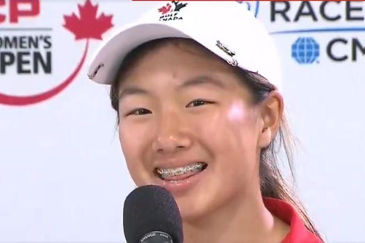 Michelle Liu er fædd árið 2006.