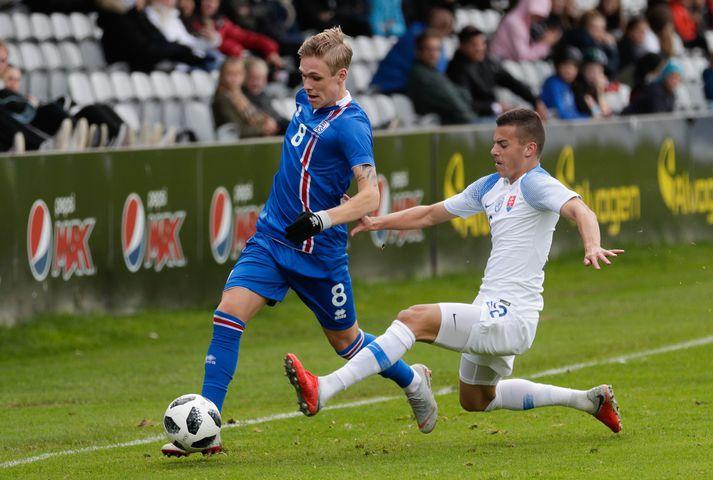 Arnór Sigurðsson spilar með U21 landsliðinu