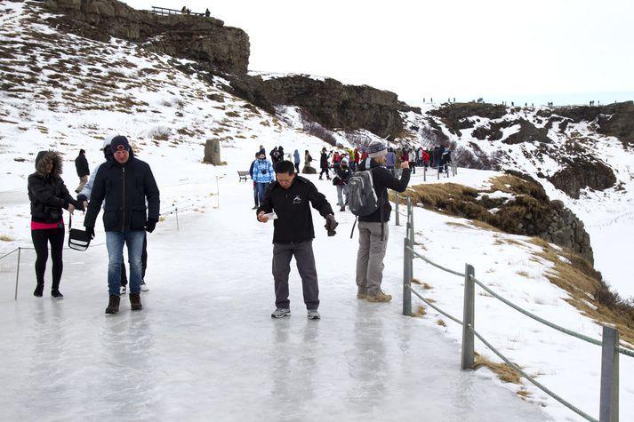 Rætt verður um skipulag ferðamannastaða á þinginu í dag.